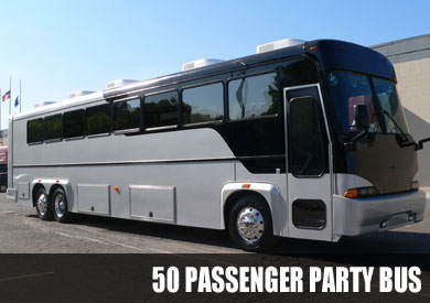 50 Passenger Party Bus