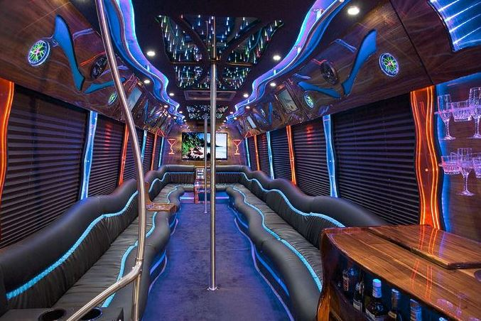 Party Bus Rental Hempstead