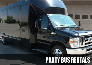 Texas City Party Buses